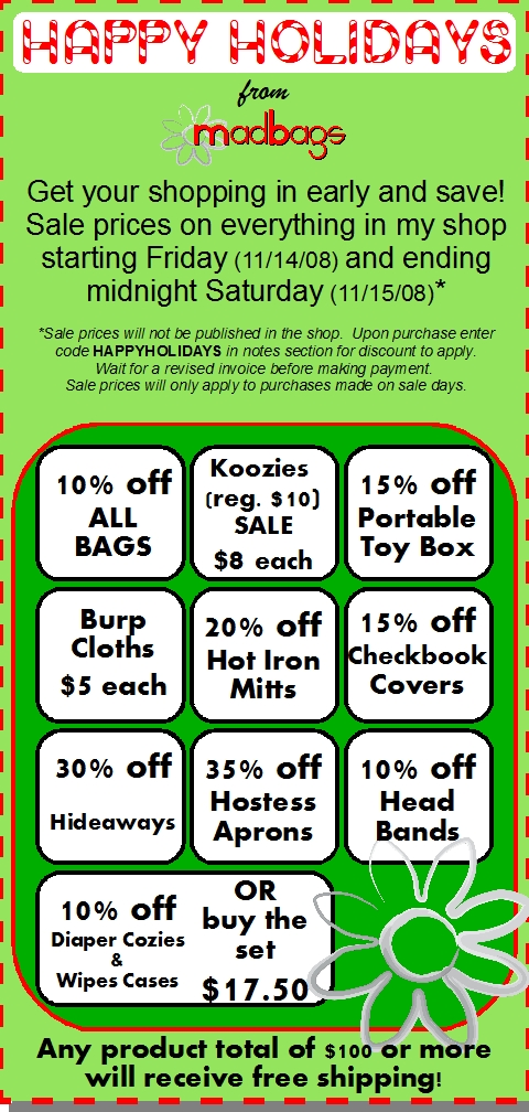 Holiday Sale Flyer 2008 jpg